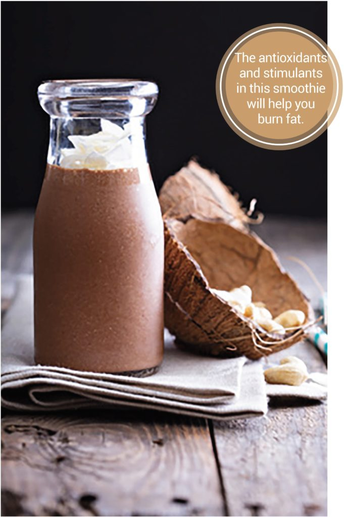 Chocolate and Coconut Smoothie